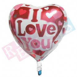 Folyo Kalp Balon 18 İnç I Love You