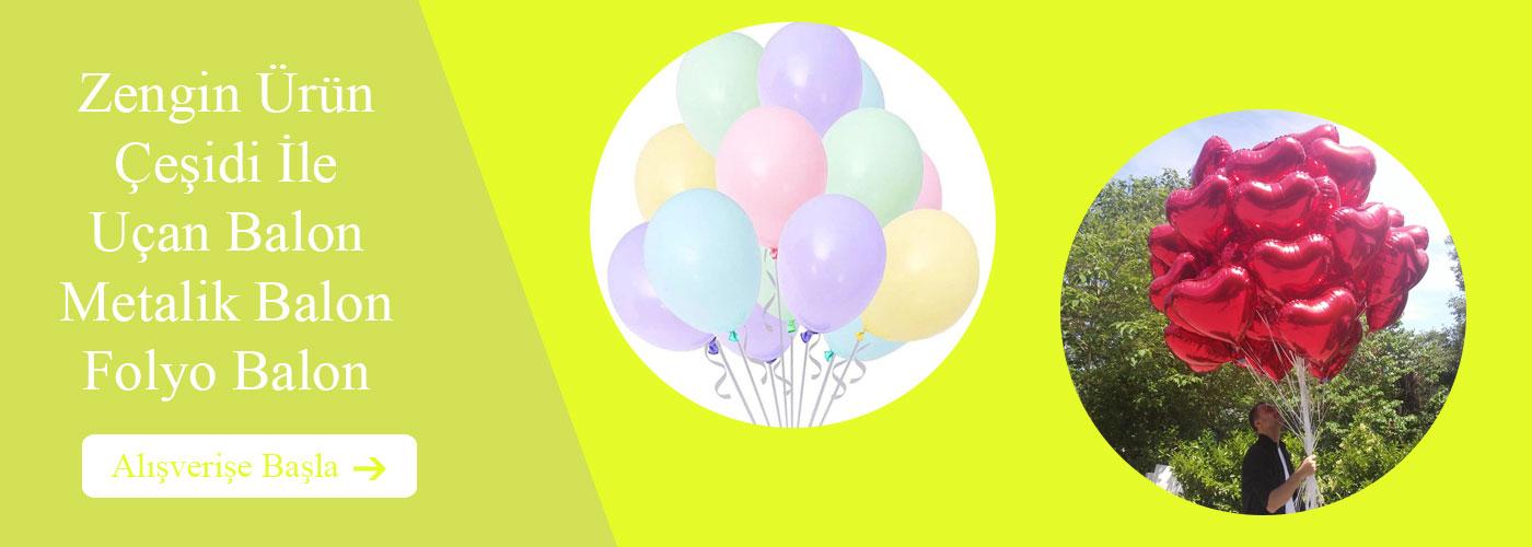Uçan Balon Helyum Gazı