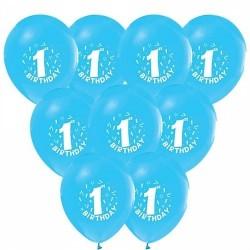 Balon 1 Yaş Mavi