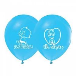 Balon İlk Dişim Mavi