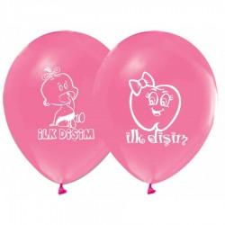 Balon İlk Dişim Pembe