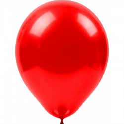 Metalik Balon Kırmızı