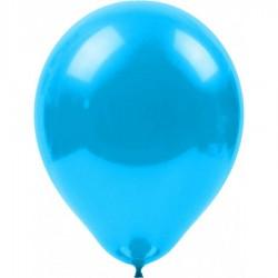 Metalik Balon Açık Mavi