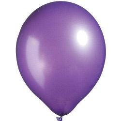 Metalik Balon Mor - Violet