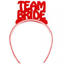 Bride Team Taç Kırmızı