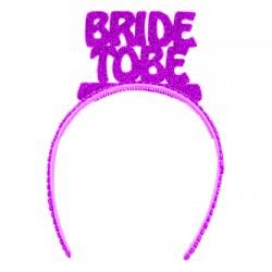 Bride To Be Taç Fuşya