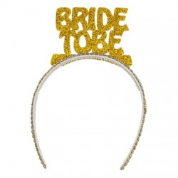 Bride To Be Taç Gold