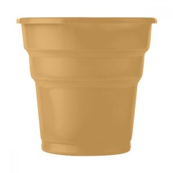 25'li Plastik Gold Bardak